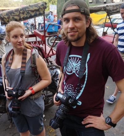 Martin och Louise, journalister med ambitioner!