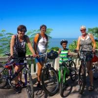 Maputo gör sig bra från cykelsadeln!